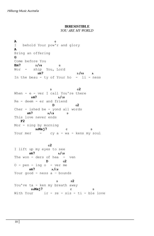 You Are My World Guitar Chords Image collections - basic guitar ...