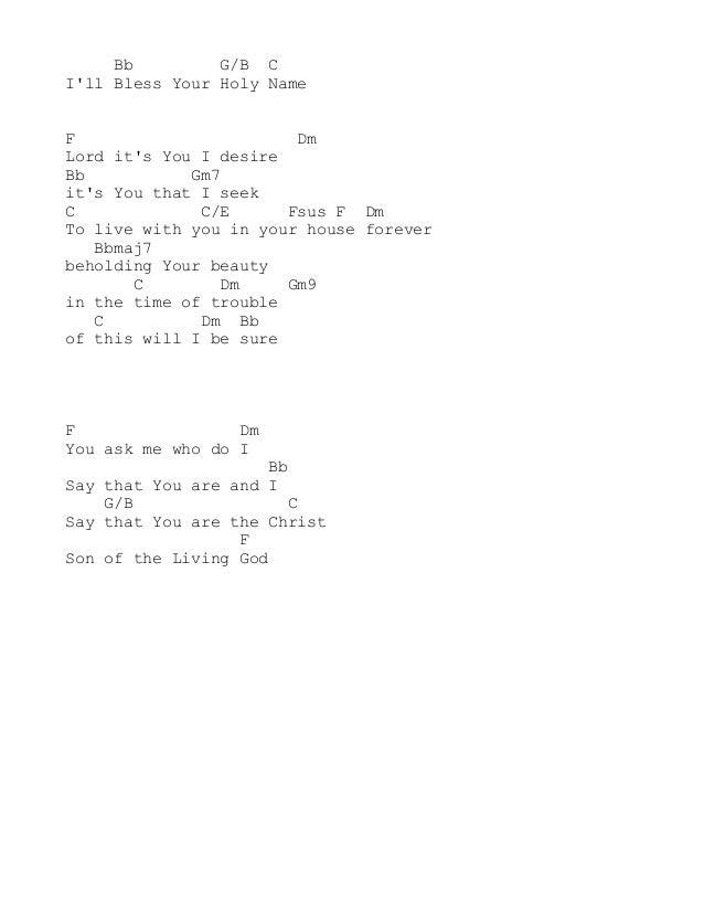 Lyric no other name lyrics hillsong : Hillsong acordes