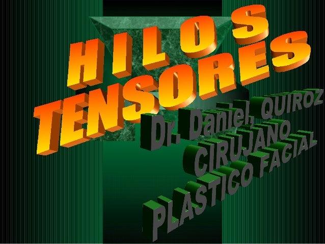 HILOS   TENSORES