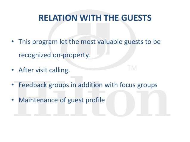 the strengths and weaknesses of the hilton hhonors program Hilton hhonors worldwide: loyalty wars what are the strengths and weaknesses of the hilton hhonors program from the standpoint of: the hilton hhonors program was created to build loyalty to the hilton brand around the world.