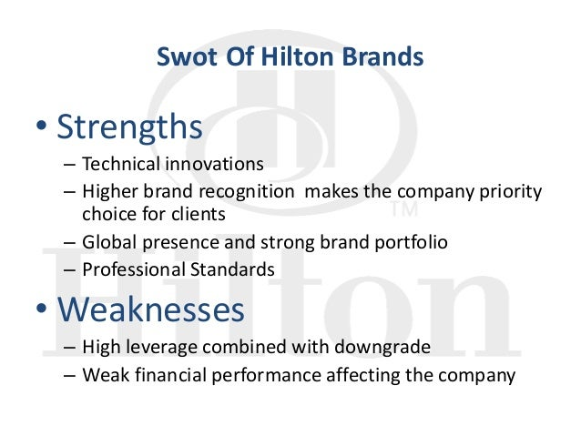 swot analysis for hilton hhonors Ebscohost serves thousands of libraries with premium essays, articles and other content including hilton worldwide holdings inc swot analysis get access to over 12 million other articles.