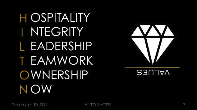 7 hilton hotels brand differentiation through customer relationship management Hotel brand strategy  brand management customer satisfac-tion hotel asset value franchising  a hotel brand represents a relationship with guests this relation-.