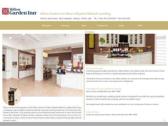 Hilton Garden Inn W Lafayette Wabash Landing Hotel Ebrochure