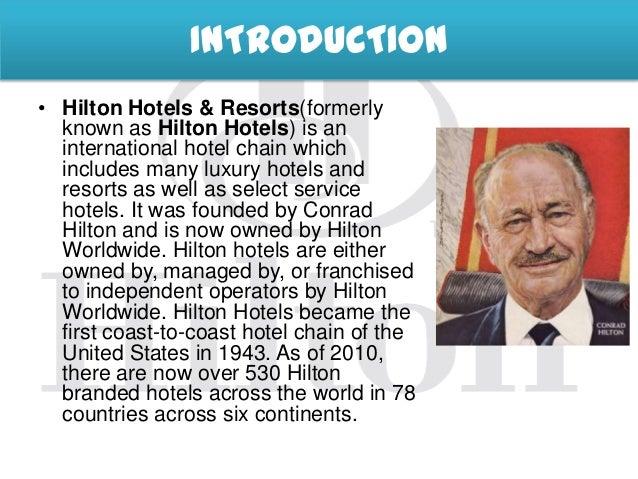 hilton worldwide history