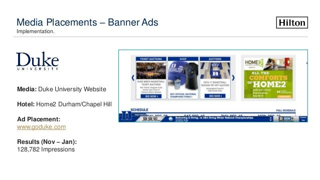 Marketing portfolio website