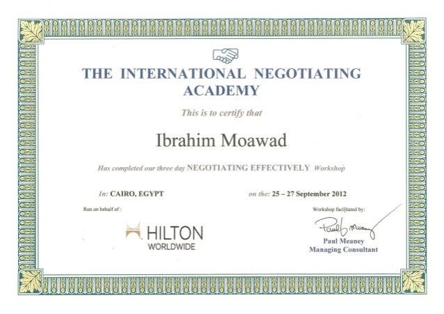 Hilton International Regional worldwide Training
