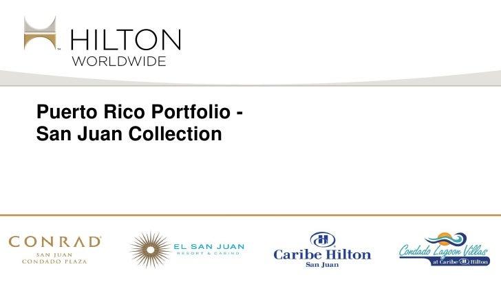 Puerto Rico Portfolio -San Juan Collection