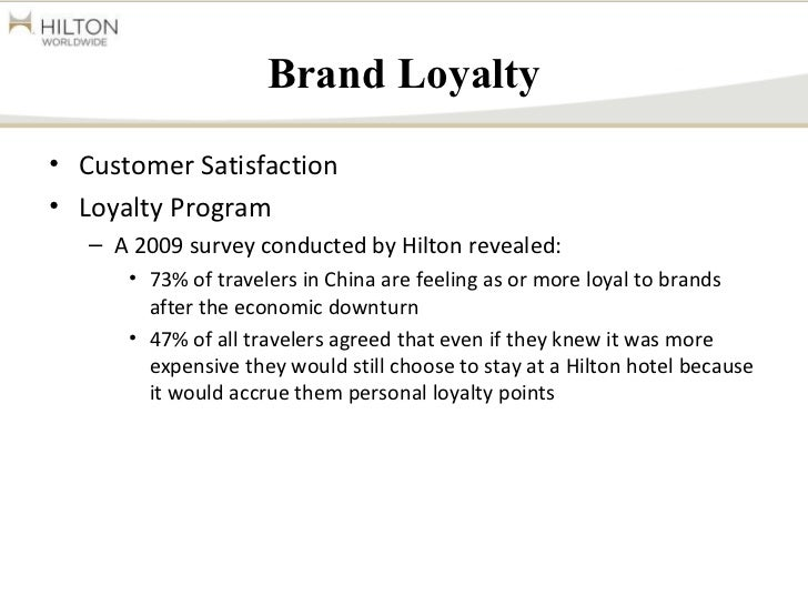Hilton Worldwide in Travel