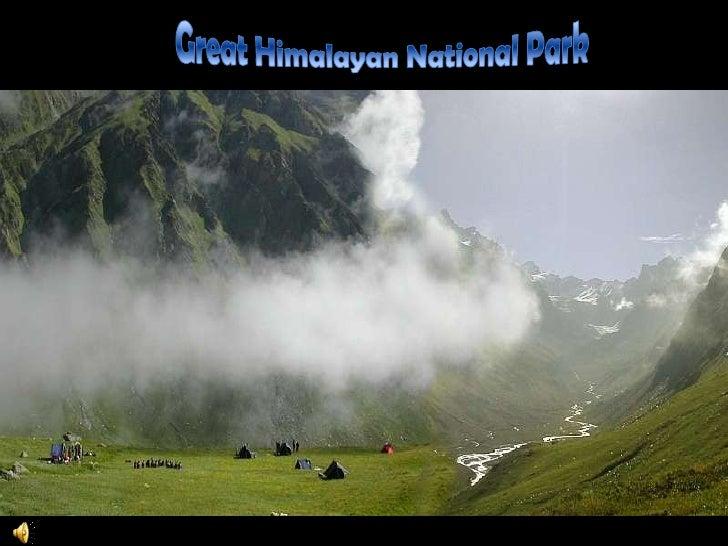 Great Himalayan National Park<br />