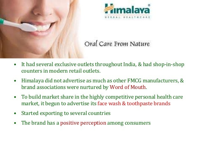 Himalaya herbal toothpaste category and brand involvement in an emerging market