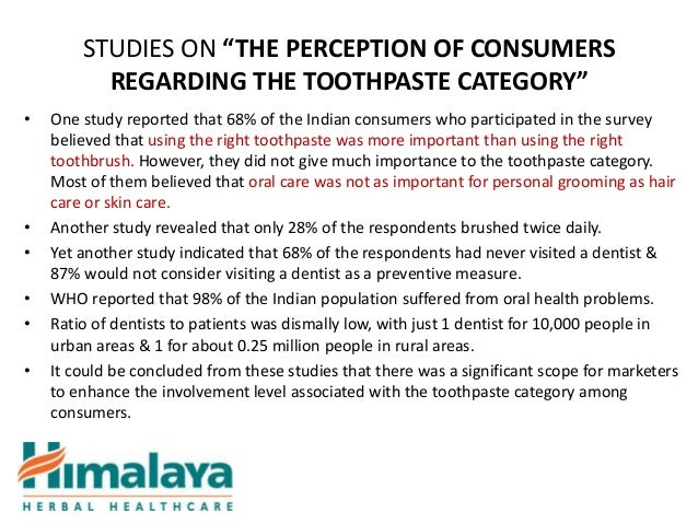a study of toothpaste category in Study was to evaluate the clinical efficacy of desensitizing toothpaste containing   desensitizing toothpaste containing potassium citrate (colgate sensitive multi.