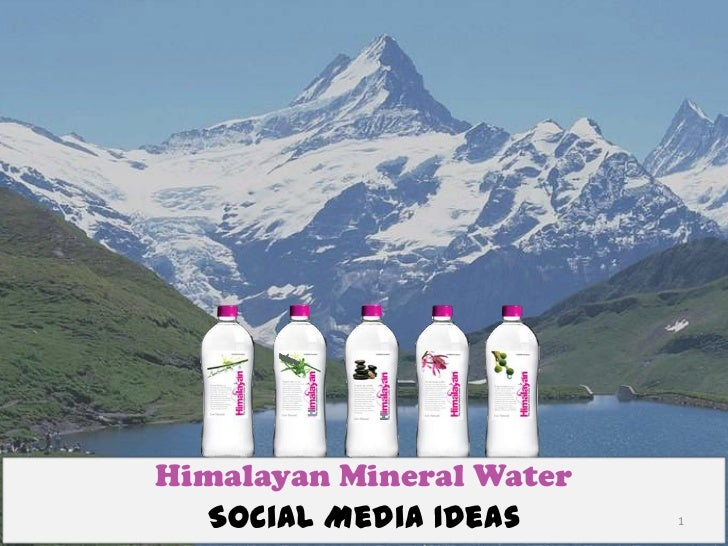 Himalayan Mineral Water  Social Media Ideas      1