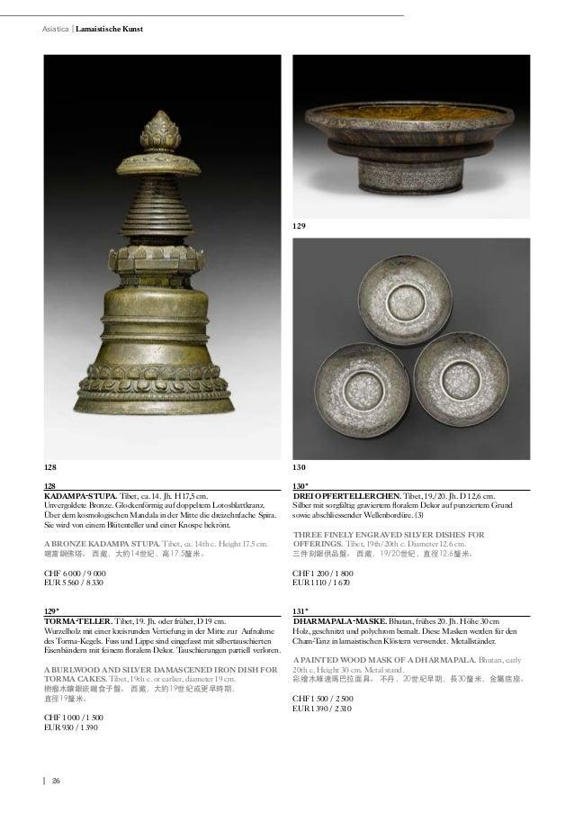 Koller - Asian Art Auction Himalaya und China 7 Dezember 2016
