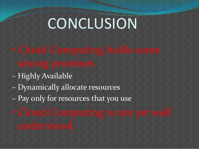 Cloud Computing Examples Ppt