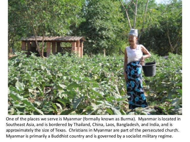 Calvary Church Photoessay: Myanmar Slide 2