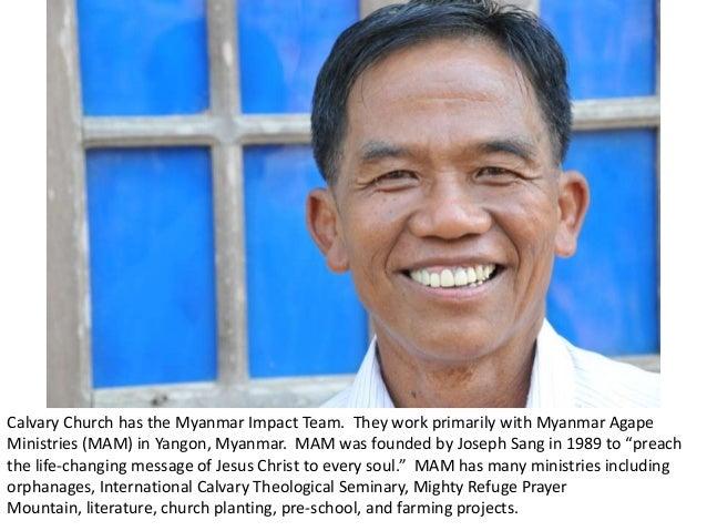 Calvary Church Photoessay: Myanmar Slide 3