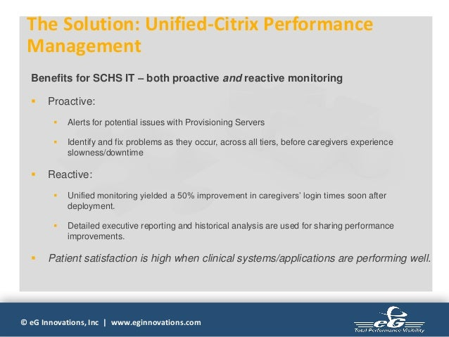 A Dummies Guide to overcome Performance Related Citrix issues
