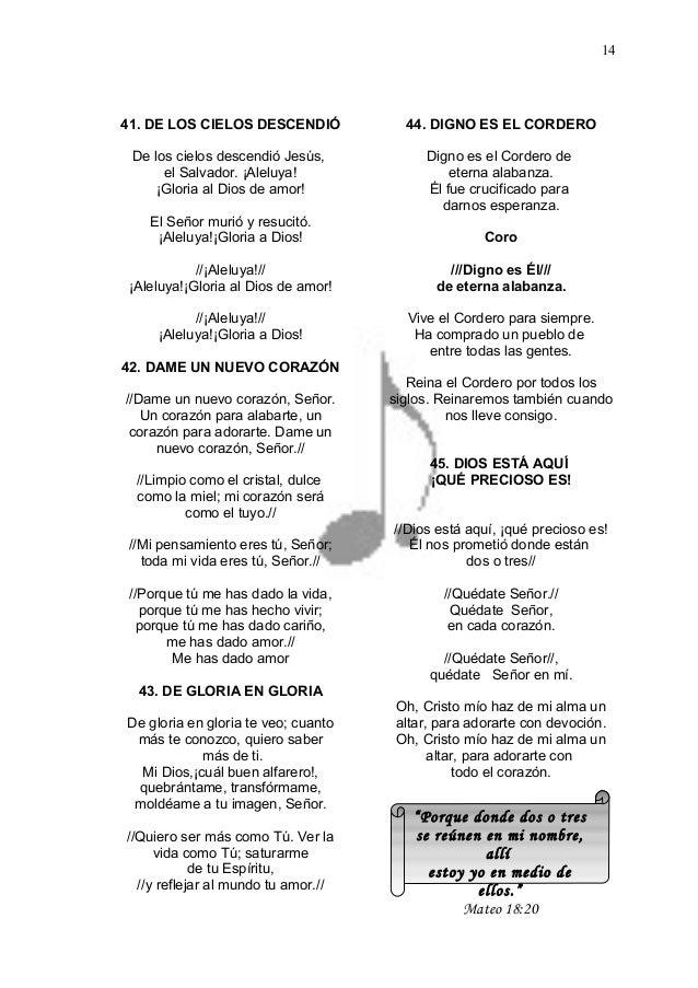 Jesús Cañaveral Himnario 1 En Word