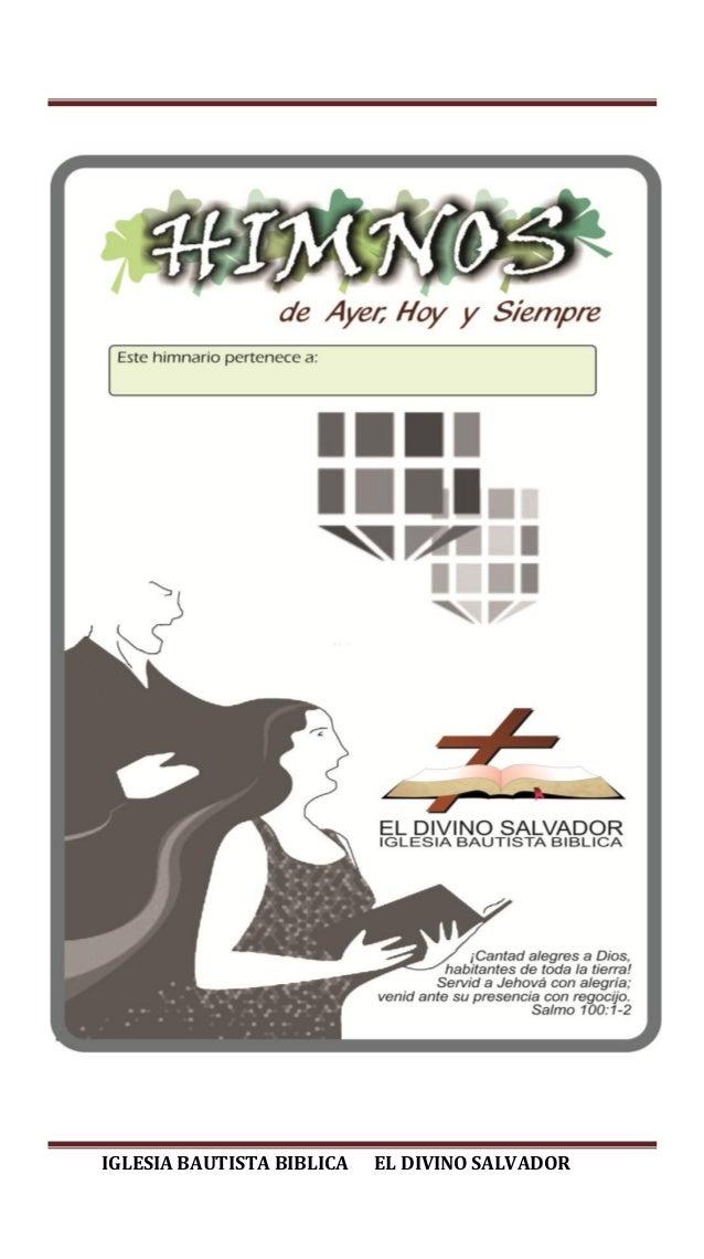 IGLESIA BAUTISTA BIBLICA EL DIVINO SALVADOR