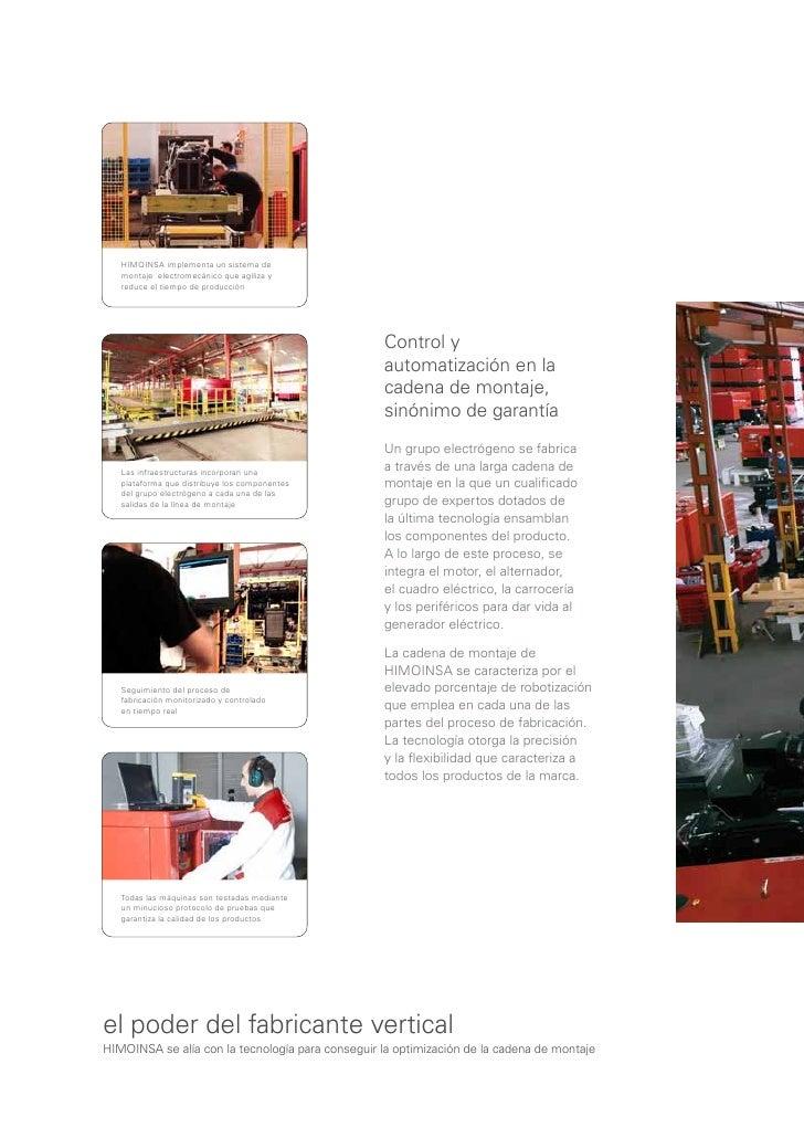Himoinsa Catalogo De Empresa