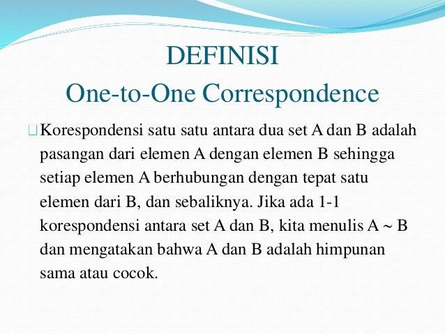 Himpunan plpg 5 definisi one to one correspondence korespondensi satu ccuart Images