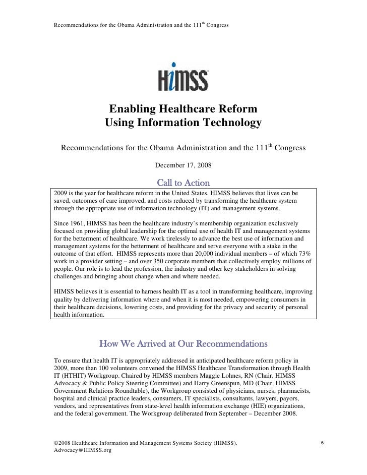 the use of information technology in the healthcare industry Benefits of computer use in health care systems improved quality of care  automated hospital information systems can help improve quality of care   technology is constantly improving, and the healthcare areas can use this to   home caregivers in the field access to services on the health care intranet.