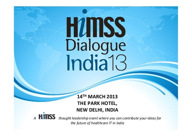 14TH MARCH 2013                                                                   THE PARK HOTEL,           ...