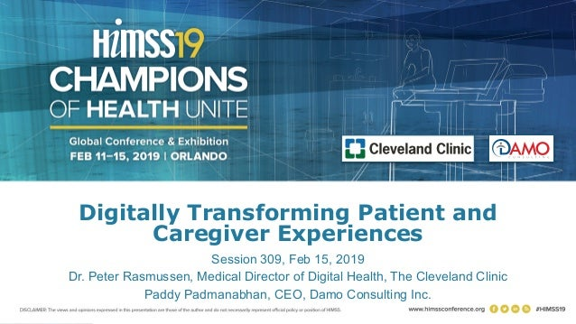 Digitally Transforming Patient and Caregiver Experiences
