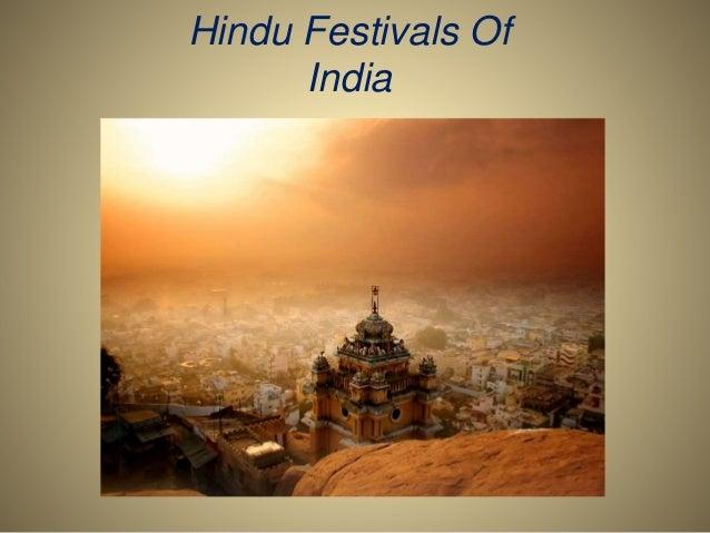 Hindu Festivals Of India