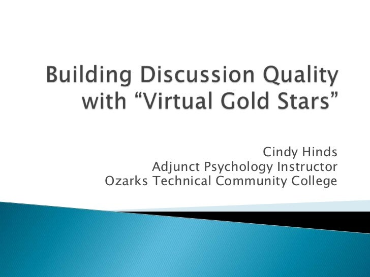 Cindy Hinds       Adjunct Psychology InstructorOzarks Technical Community College