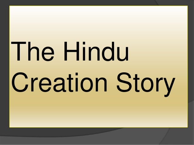 picture story of hindu creation
