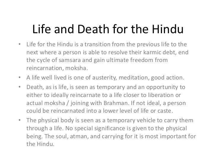 Significance of Death in Hinduism