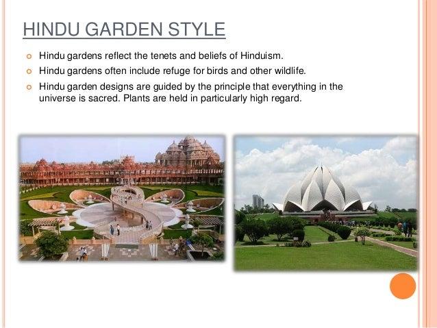 Hindu And Buddhist Garden Style