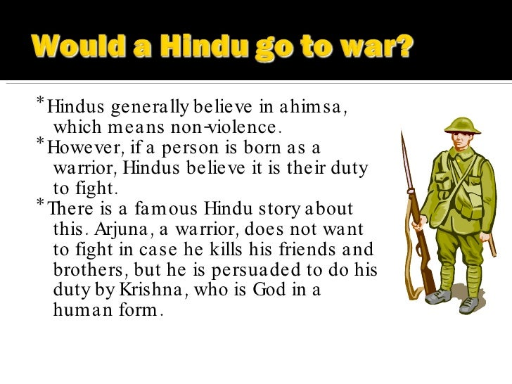 Violence in hinduism