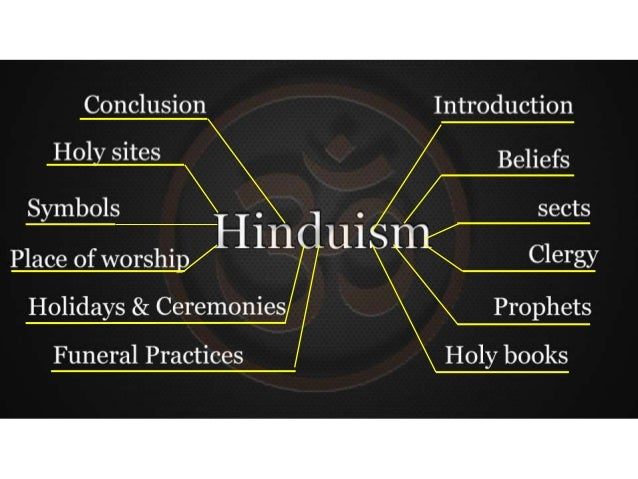 Introduction Hinduism is the oldest religion of Indian people and Nepalese people. It refers to the cultural activity and ...