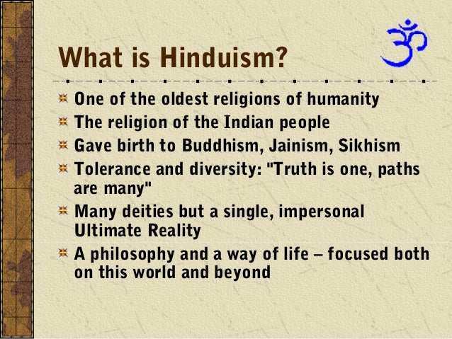 A Summary of What Most Hindus Believe
