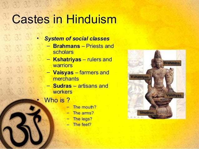 vaishya cate system of hinduism The notion of varna as a non-inherited human types system rather than a socio-religious caste system the vaishya traders including caste the hindu.