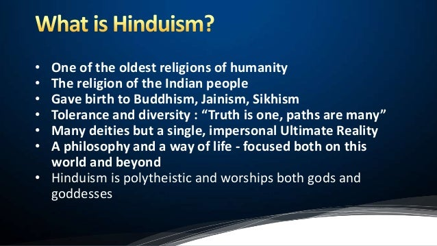 is hinduism a polytheistic religion