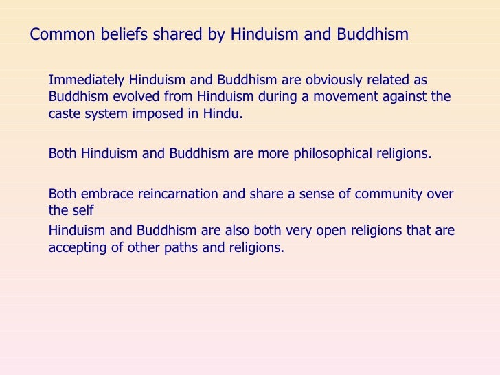 differences and similarities between hinduism and buddhism essay Similarities and differences between jainism and buddhism jain religion is nearer to hinduism whereas buddhism macbeth essay – the similarities and.
