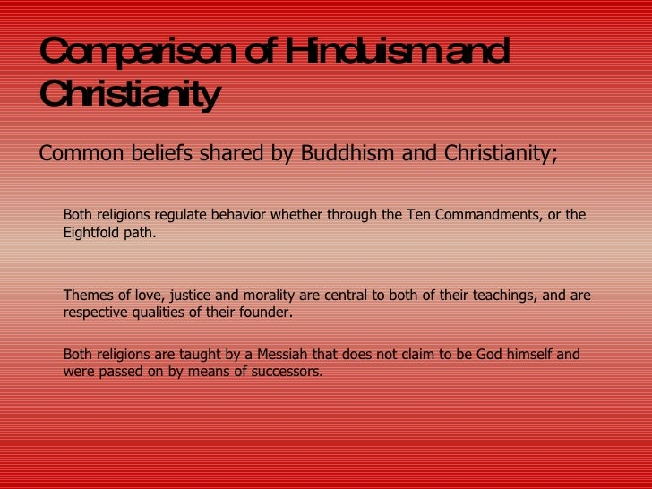 differences between buddhism and christianity essay Read this essay on buddhism and christianity christianity vs buddhismthis paper is a comparison between two very different religions.