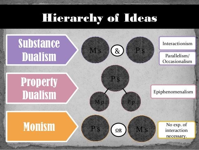essays dualism property dualism