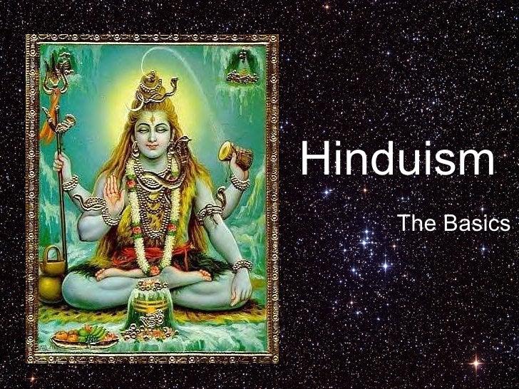 Hinduism The Basics