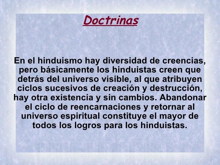 Hinduismo y budismo - Principios del hinduismo ...