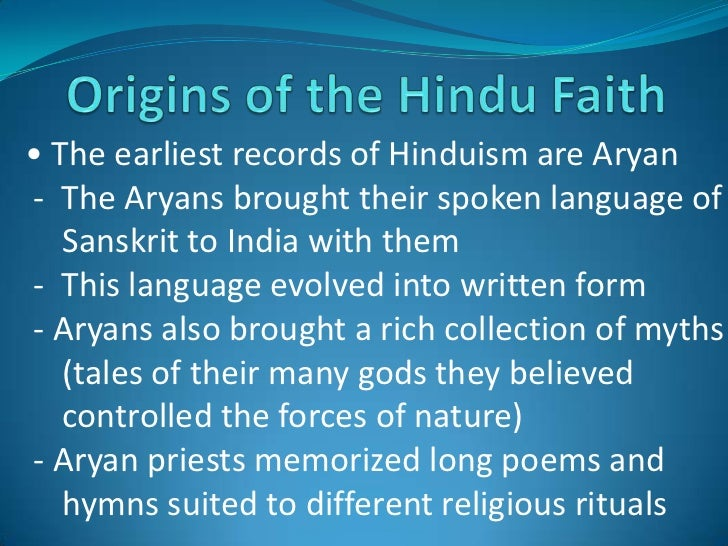 an introduction to the history of hinduism Hinduism, major world religion originating on the indian subcontinent and comprising several and varied systems of philosophy, belief, and ritual although the name hinduism is relatively new, having been coined by british writers in the first decades of the 19th century, it refers to a rich cumulative tradition of texts and practices, some of .