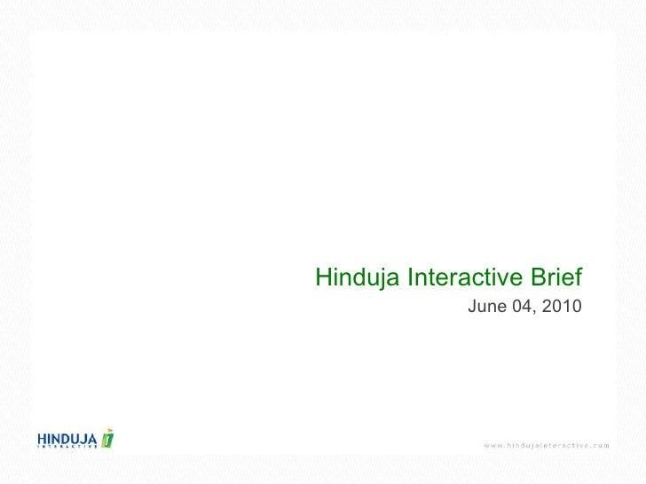 Hinduja Interactive Company Profile