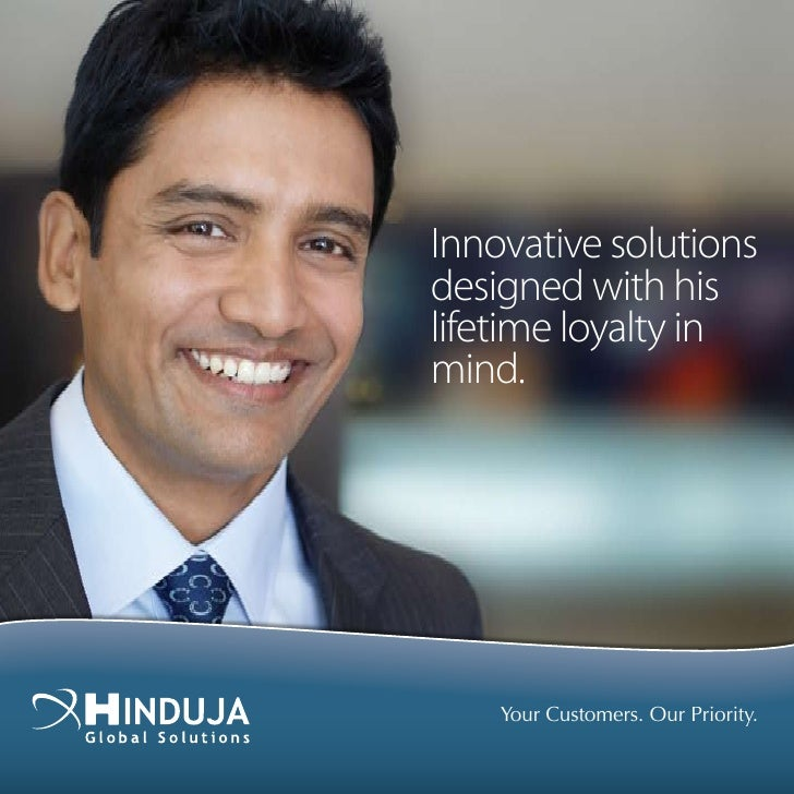 Innovative solutions designed with his lifetime loyalty in mind.         Your Customers. Our Priority.