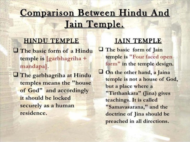 the differences between hinduism and jainism Essay on hinduism jainism and buddhism hence the significant differences between jainism and hinduism can be briefly noted as follows: scriptures.