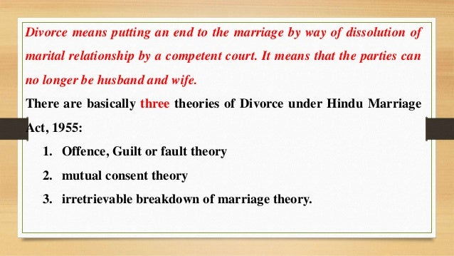 divorce in hinduism