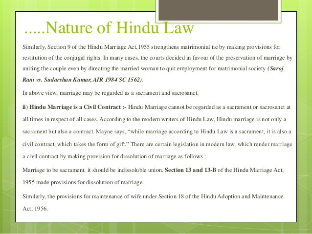 Holy matrimony vs civil marriage act