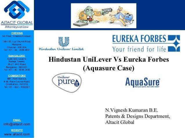 Eureka Forbes — Customer care